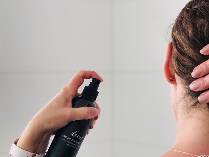 استفاده از بادی اسپلش برای خوشبویی بدن