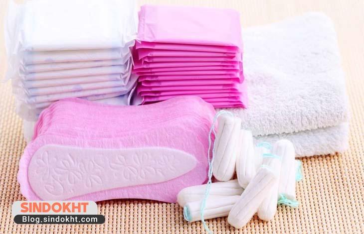 محصولات بهداشتی سلولزی بانوان و نوار بهداشتی