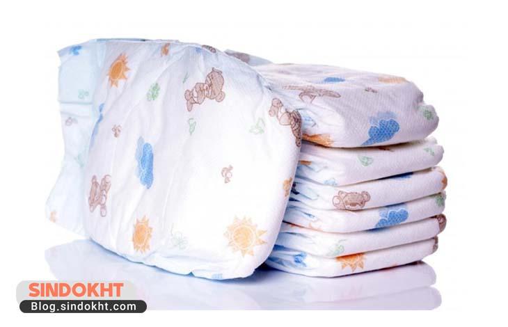 پوشک بچه از محصولات بهداشتی سلولزی