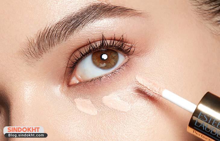 کاربرد کانسیلر صورت در آرایش