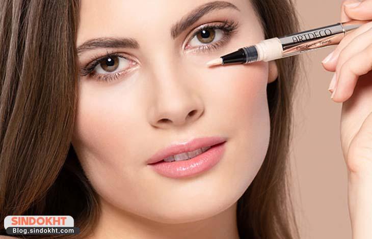 کاربرد کانسیلر صورت و انتخاب کانسیلر مناسب