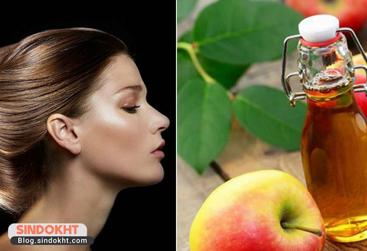 کرم مو خانگی سرکه سیب و زیتون برای درمان موخوره