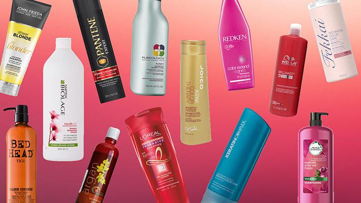 شامپو و محصولات مراقبت از موهای رنگ شده