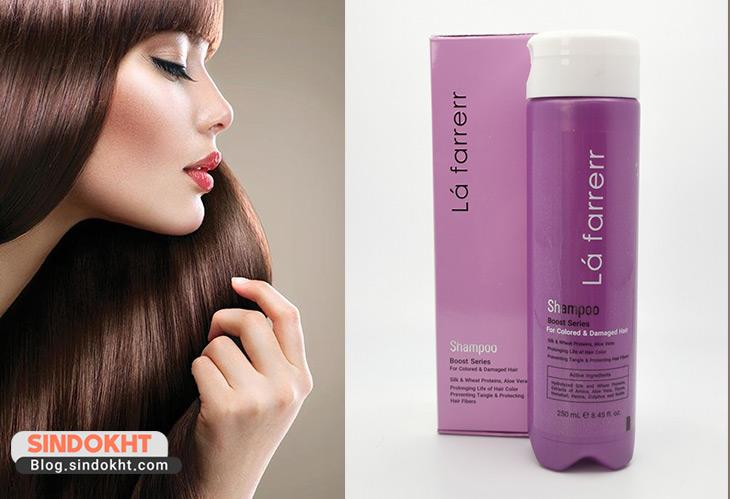 شامپو لافارر برای موهای رنگ شده
