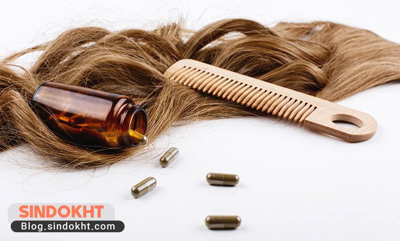 مراقبت از مو، استفاده از ویتامین های ضروری برای سلامت موها